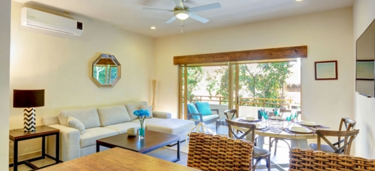 Hotel Los Mijales Village: Living Room RIVIERA MAYA
