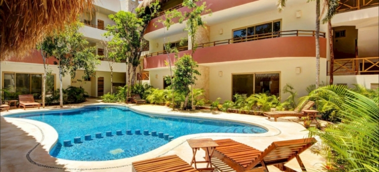 Hotel Los Mijales Village: Piscine Découverte RIVIERA MAYA