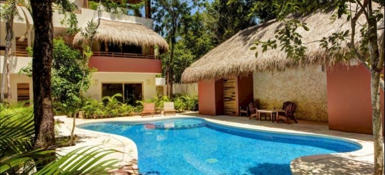 Hotel Los Mijales Village: Salotto RIVIERA MAYA