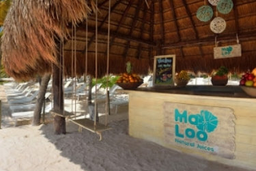 Hotel Catalonia Royal Tulum Beach & Spa Resort Adults Only - All Inclusive: Bar Exterieur RIVIERA MAYA