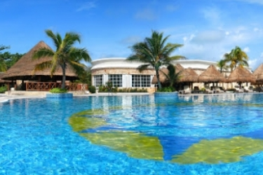 Hotel Catalonia Royal Tulum Beach & Spa Resort Adults Only - All Inclusive: Piscine Découverte RIVIERA MAYA