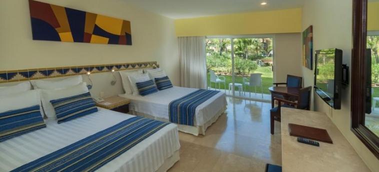 Hotel Viva Wyndham Azteca: Chambre jumeau RIVIERA MAYA