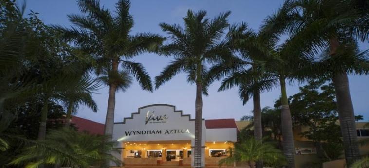 Hotel Viva Wyndham Azteca: Entrée RIVIERA MAYA