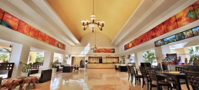 Hotel Viva Wyndham Azteca: Lobby RIVIERA MAYA