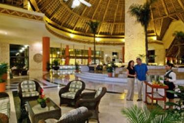 Hotel Bahia Principe Grand Tulum: Hotelhalle RIVIERA MAYA