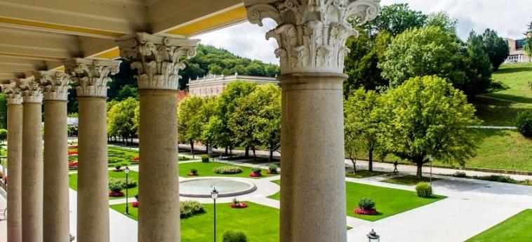 Grand Hotel Rogaska: Jardín ROGASKA SLATINA