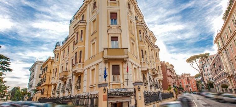 Hotel Villa Torlonia: Außen ROM