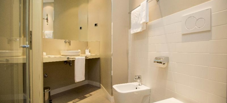 Hotel Villa Torlonia: Schlafzimmer ROM