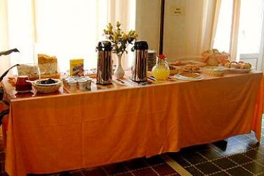 Hotel Athena: Frühstücksraum ROM