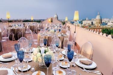 Voi Hotel Donna Camilla Savelli: Terrasse ROM