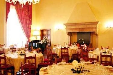 Hotel Columbus: Restaurant ROM