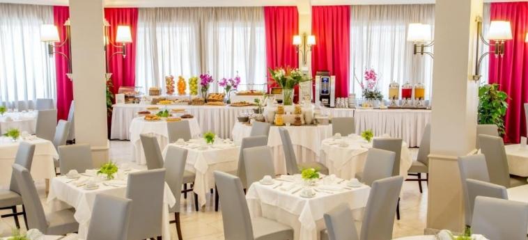 Hotel Cristoforo Colombo: Sala de Desayuno ROMA
