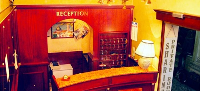 Hotel Tre Stelle: Recepción ROMA