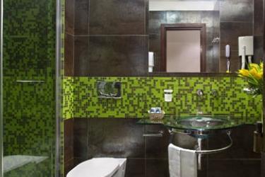 Hotel Memphis: Cuarto de Baño ROMA