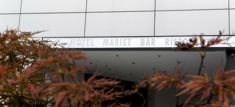 Hotel Mariet: Parkplatz ROMANO DI LOMBARDIA - BERGAMO