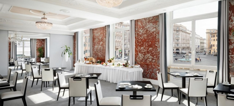 Hotel Sina Bernini Bristol: Interior Detail ROME - Lazio