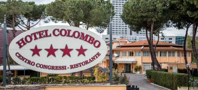 Hotel Cristoforo Colombo: Façade Hotel ROME