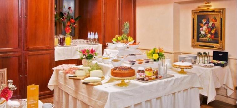 Hotel Barocco: Petit Déjeuner ROME