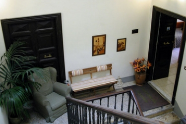 Hotel Nazional Rooms: Escalier ROME