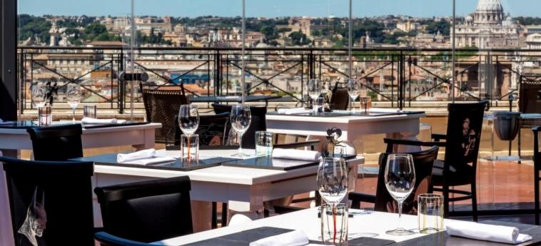 Hotel Sina Bernini Bristol: Restaurant ROME