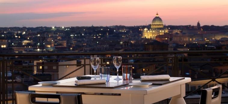 Hotel Sina Bernini Bristol: Terrace ROME
