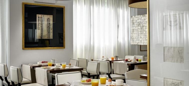 Hotel Pulitzer: Salle de Petit Déjeuner ROME