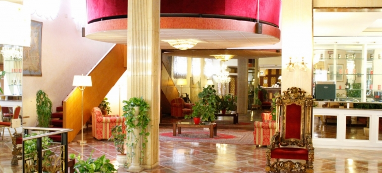 Grand Hotel Hermitage: Lobby ROME