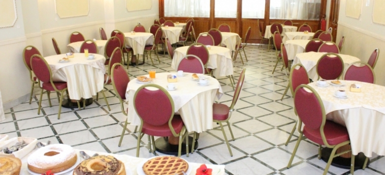 Hotel Romulus: Breakfast Room ROME