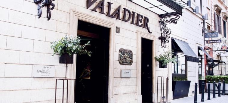 Hotel Valadier: Entrée ROME