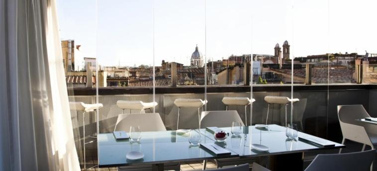 Hotel Valadier: Vue ROME