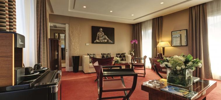 Grand Hotel Via Veneto: Interior detail ROME