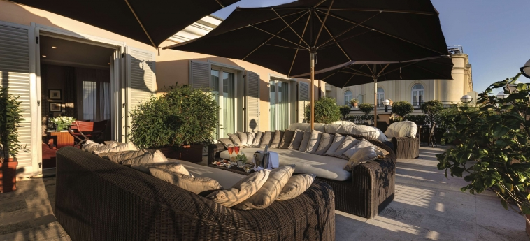Grand Hotel Via Veneto: Sundeck ROME