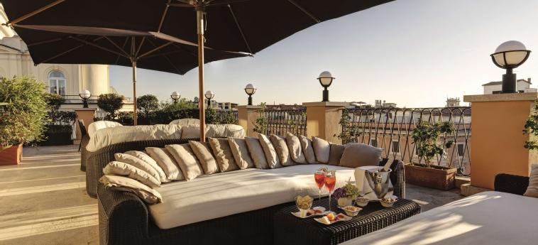 Grand Hotel Via Veneto: Terrace ROME