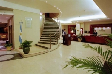 Plaza Real Hotel: Escalier ROSARIO