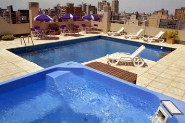 Plaza Real Hotel: Outdoor Swimmingpool ROSARIO
