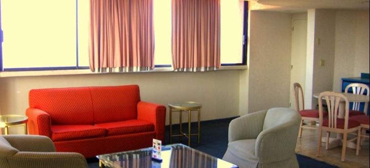 Hotel Corona Plaza: Living Room ROSARITO - BAJA CALIFORNIA