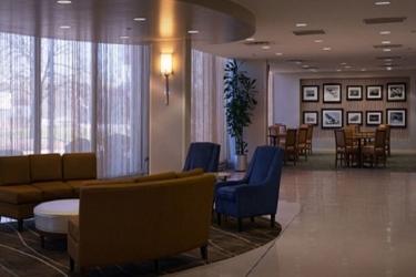 Edward Hotel Chicago: Area salotto ROSEMONT (IL)