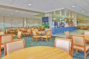 Edward Hotel Chicago: Breakfast area ROSEMONT (IL)