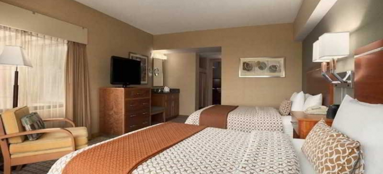 Hotel Embassy Suites By Hilton Chicago O'hare Rosemont: Schlafzimmer ROSEMONT (IL)