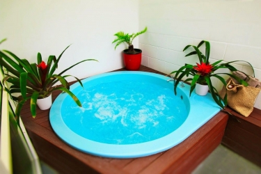 Hotel Best Western Capri Court Motor Inn: Vasca idromassaggio profonda ROTORUA
