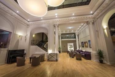 Mercure Lille Roubaix Grand Hotel: Hotelhalle ROUBAIX