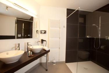 Hotel Residenz Hochalm: Cuarto de Baño SAALBACH-HINTERGLEMM