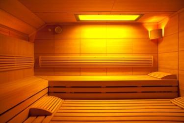 Hotel Residenz Hochalm: Sauna SAALBACH-HINTERGLEMM
