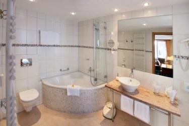 Sunstar Hotel Saas-Fee: Badezimmer SAAS-FEE