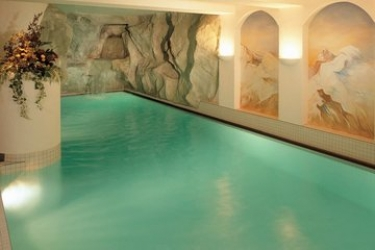 Sunstar Hotel Saas-Fee: Innenschwimmbad SAAS-FEE