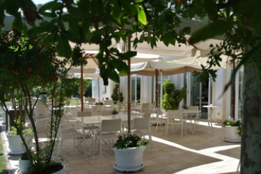 Hotel Il San Francesco Charming: Terrasse SABAUDIA - LATINA