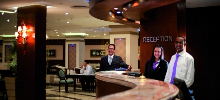 Hotel Amwaj Blue Beach Resort & Spa: Sala de Desayuno SAFAGA