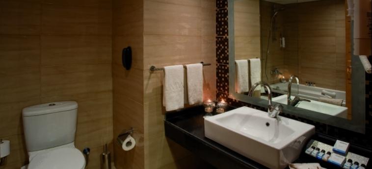 Hotel Amwaj Blue Beach Resort & Spa: Badezimmer SAFAGA