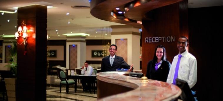 Hotel Amwaj Blue Beach Resort & Spa: Frühstücksraum SAFAGA