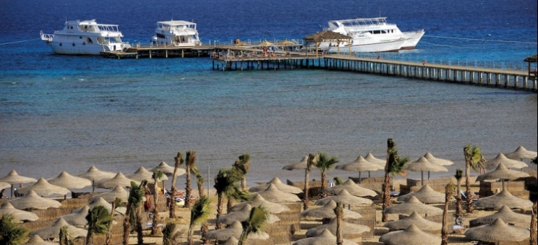 Hotel Amwaj Blue Beach Resort & Spa: Beach SAFAGA